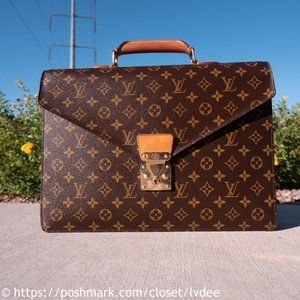 LOUIS VUITTON Briefcase for Macbook Pro 15 Inch